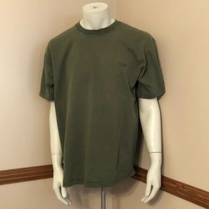 Big Dogs basic green shirt men's S/M vintage